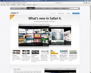 Safari 4 Beta