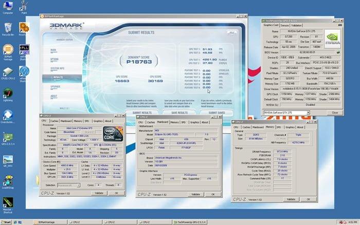 GeForce GTX 285 score