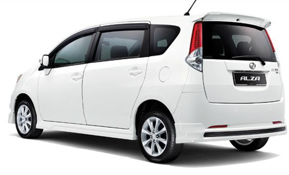Perodua Alza Premium Version