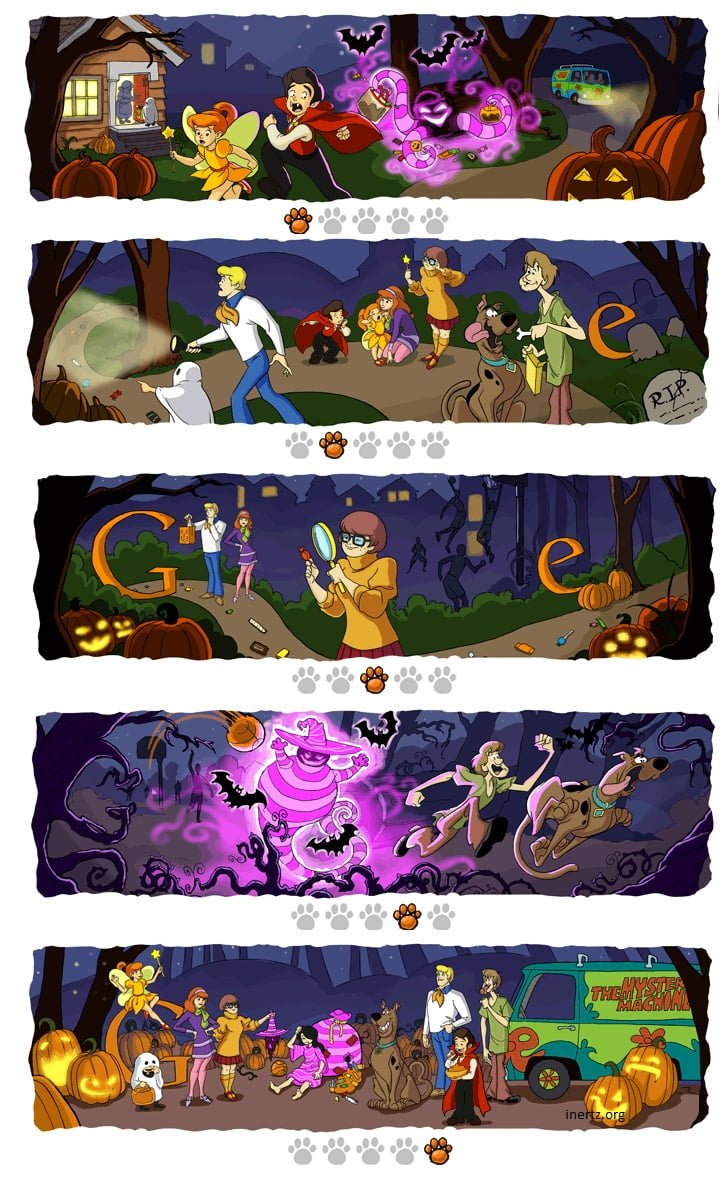 it news at blog archive nice halloween google doodle